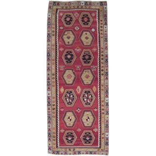 Sharkisla Kilim Wide Runner For Sale