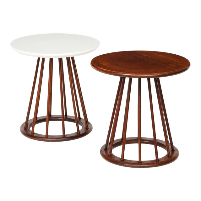 Arthur Umanoff Side Tables for Washington Woodcraft - Set of 2 For Sale