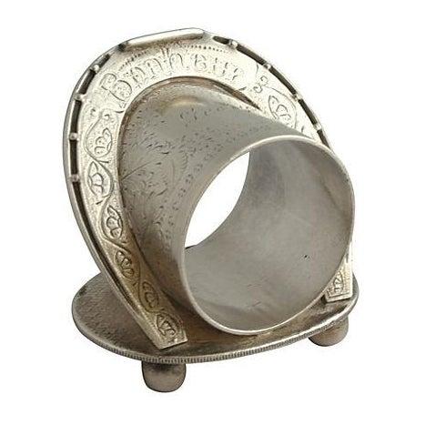 Antique Silver Signed George Bonheur, Napkin Ring - Image 1 of 6