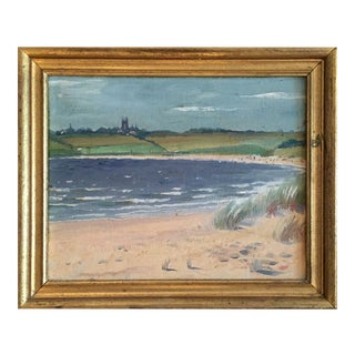St. George's School From Second Beach - Oil Painting For Sale