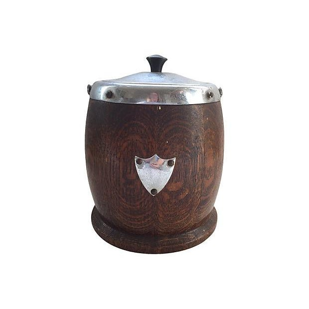 English Biscuit Barrel - Image 1 of 7