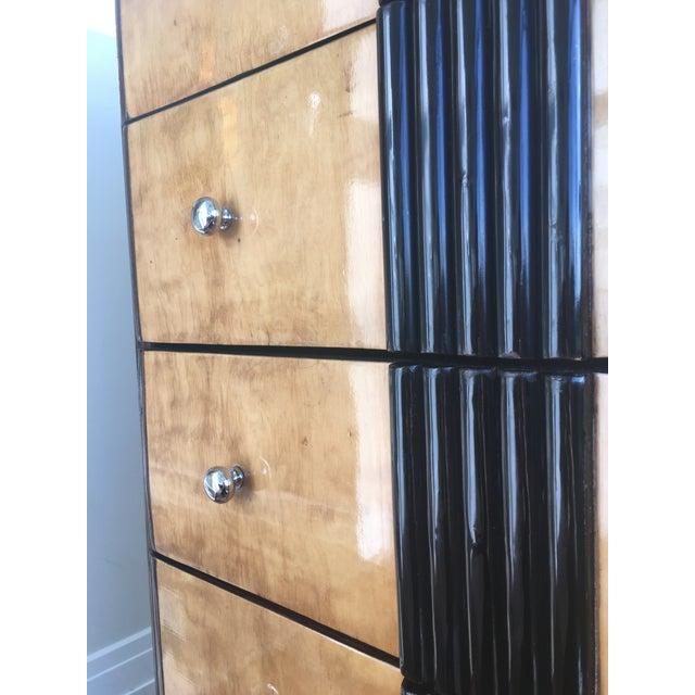 1920s Art Deco Zebra Wood Dresser - Image 6 of 7
