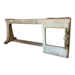 Industrial Cast Iron Table Base For Sale