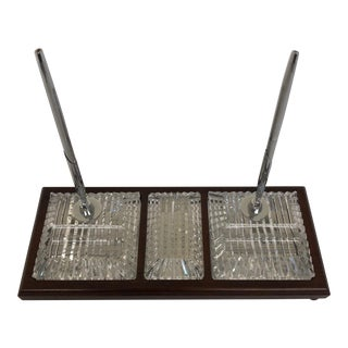 Waterford Crystal Desk Set