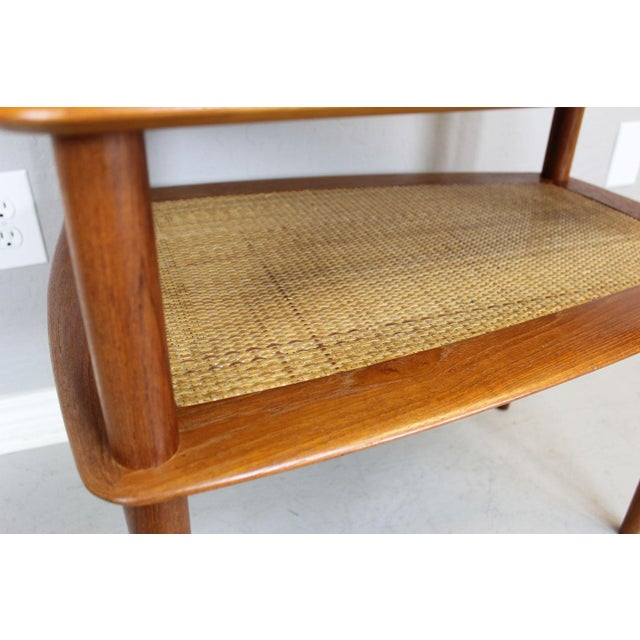 Peter Hvidt MCM Solid Teak End Table - A Pair For Sale - Image 9 of 9