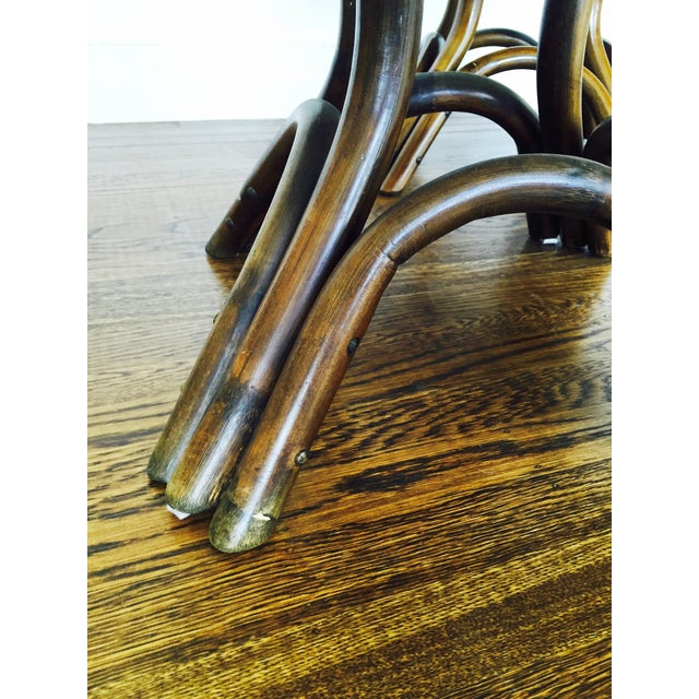 Vintage Bentwood Side Tables - Pair - Image 5 of 6