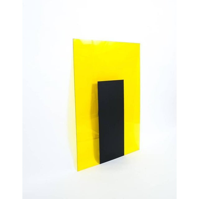 Lucite Johanna Grawunder for Memphis four Large Light Objects wall lights, 1989 For Sale - Image 7 of 10