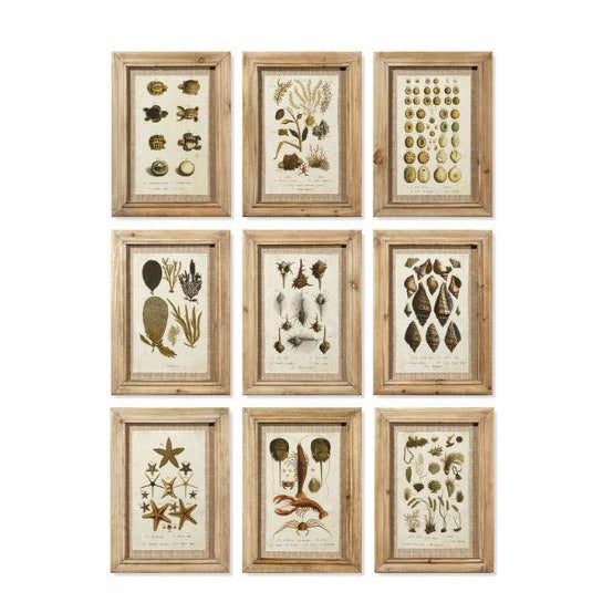 2020s Framed Antibes Prints - Set of 9 For Sale - Image 5 of 5