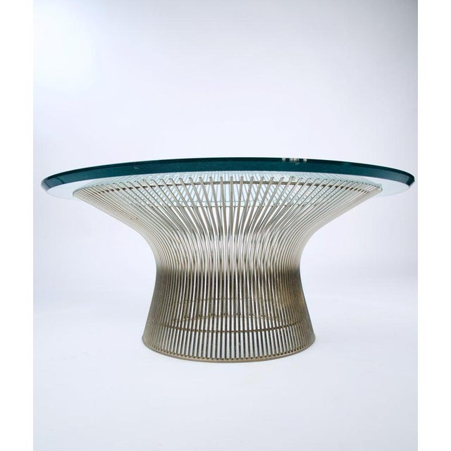 1960s Mid-Century Modern Warren Platner for Knoll Coffee Table For Sale In Los Angeles - Image 6 of 9