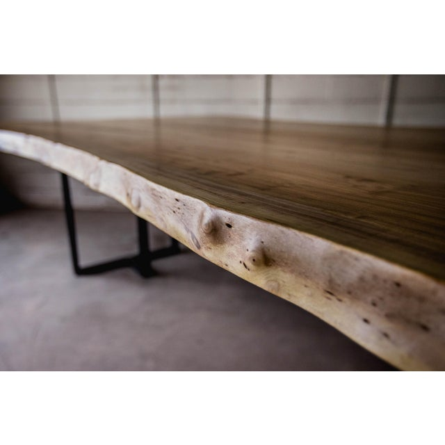 Siberian Elm Conference Table For Sale - Image 5 of 7