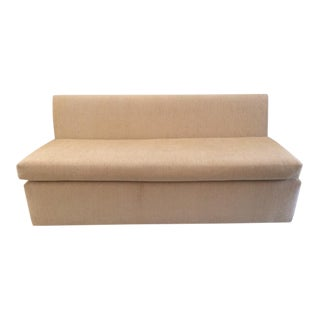 Todd Hase Iris Armless Settee For Sale