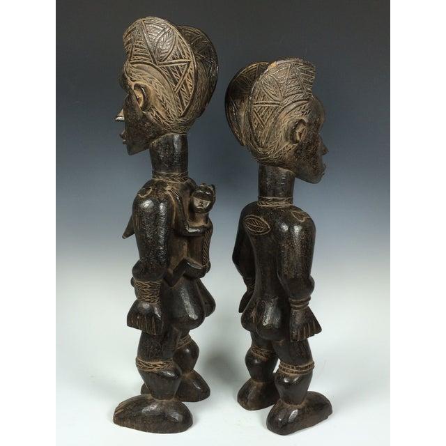 Ivory Coast African Dan Statues - A Par - Image 8 of 11