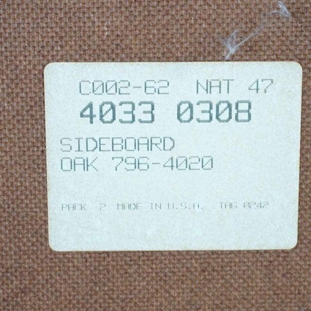 Oak Mission Style Basset Oak Sideboard For Sale - Image 7 of 8