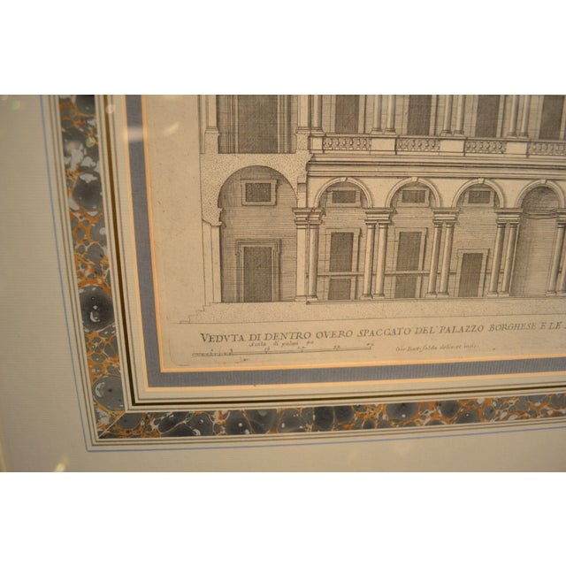 17th Century Engravings - Palazzi Di Roma - A Pair - Image 7 of 8