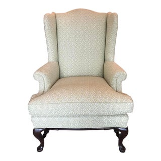 George III Wingback Chair For Sale