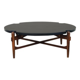 Midcentury Coffee Table Attributed to Greta Grossman For Sale