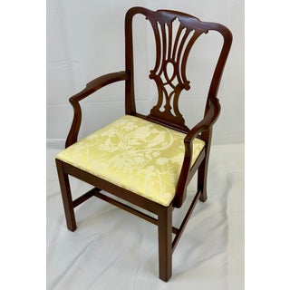Late 20th Century Chippendale Style Arm Chair Preview
