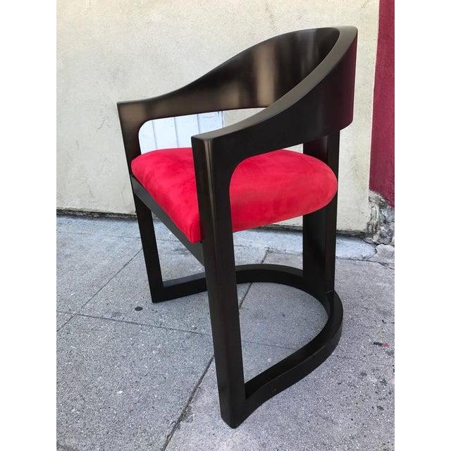 Karl Springer Style Dining Set For Sale In Los Angeles - Image 6 of 7