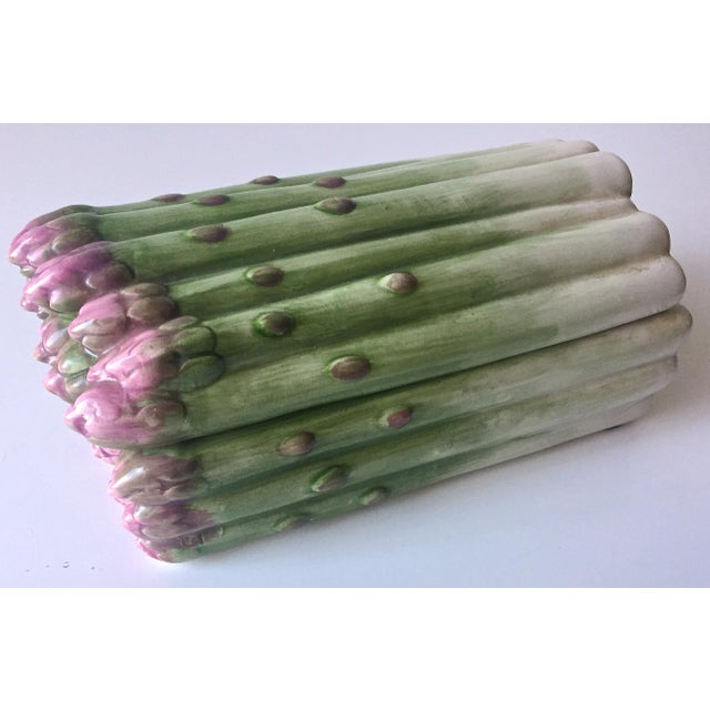 Vintage Majolica Asparagus Tureen-F & F - Image 10 of 10