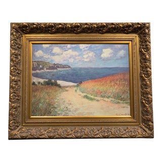 Claude Monet Seascape Framed Print For Sale