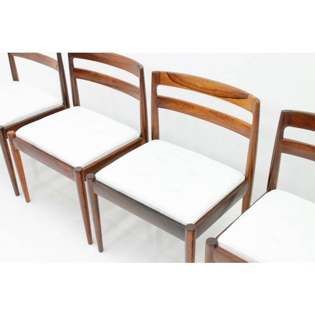 "Kai Kristiansen Dining Chairs ""Universe 301"" for Magnus Olesen Denmark 1960s For Sale - Image 9 of 13"