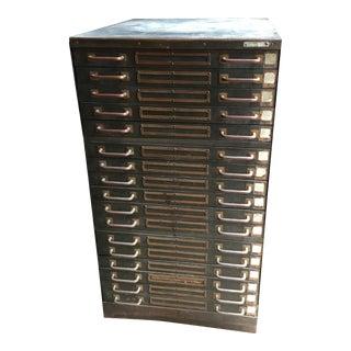 Industrial Steel Flat File Cabinet For Sale