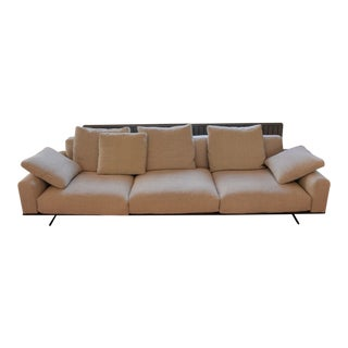 Flexform Italian Soft Dream Sofa For Sale