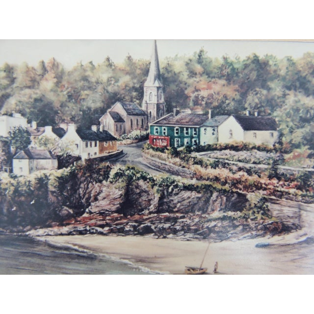 Cottage Signed Philip Grey Lithographs of Ireland - a Pair of Prints For Sale - Image 3 of 10
