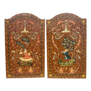 Castilian Imports Leather-Look Dressed Monkey Panels - a Pair