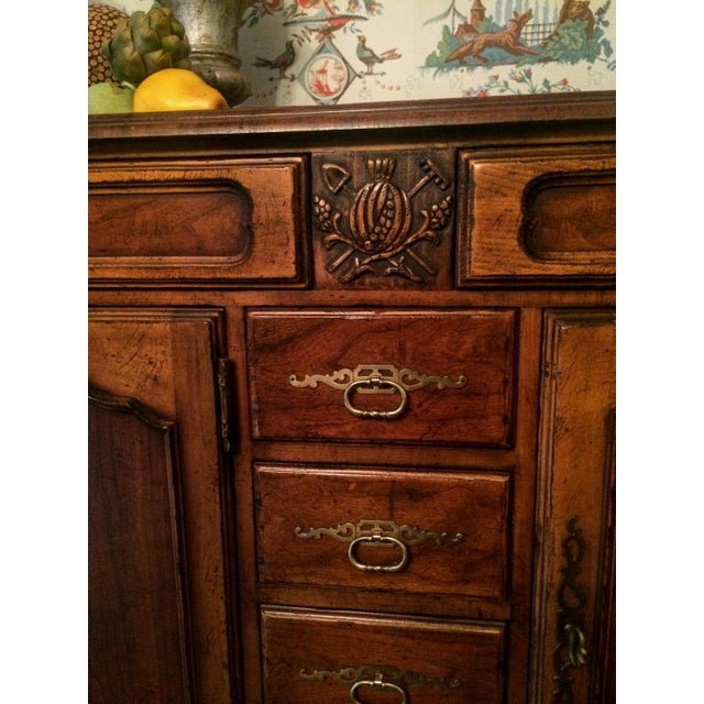 Mount Airy Furniture Co. French Provincial Sideboard Buffet For Sale - Image 10 of 11