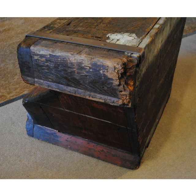 Industrial Foundry Mold Side Table - Image 6 of 8