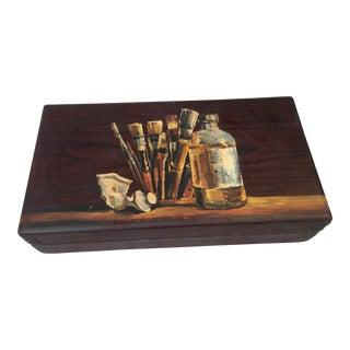Antique Painters Box