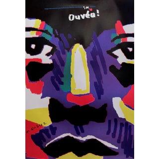 1989 Original Poster for Artis 89's Images Internationales Pour Les Droits De l'Homme Et Du Citoyen - Ouvéa For Sale