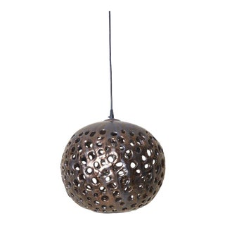 Stan Bitters Ball Lamp in Spray Metal, Usa, 2017 For Sale