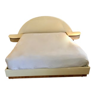 1978 Pierre Cardin Manner King Size European Platform Bed