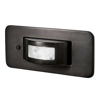 Led Revolution Black Bronze Bedside Wall Light For Sale