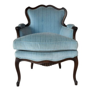 A Single French Provincial Berger'e Chair For Sale