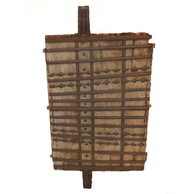 Wood and Iron Architectural Element For Sale - Image 4 of 8