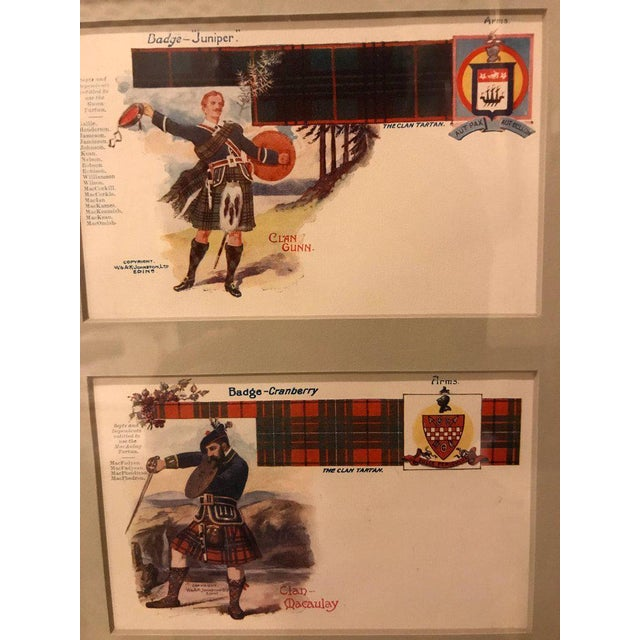 Vintage Catherine Reiss Inc Custom Framed Scottish Postcards - Set of 6 For Sale In New York - Image 6 of 10