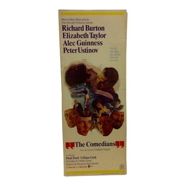 """Vintage Movie Poster """"The Comedians"""" Elizabeth Taylor 1967 - Image 1 of 6"""