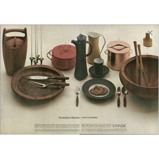 "Danish Modern Dansk Staved Teak ""Congo"" Ice Bucket by Jens Quistgaard For Sale - Image 3 of 11"