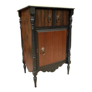 20th Century Traditional Bespoke Petite Wooden Liquor Cabinet
