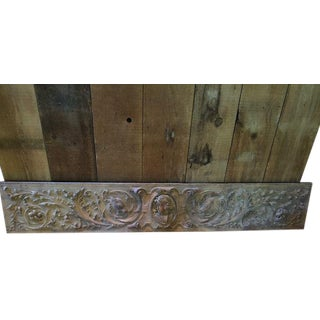 18th Century French Rococo Carved Oak Panel For Sale