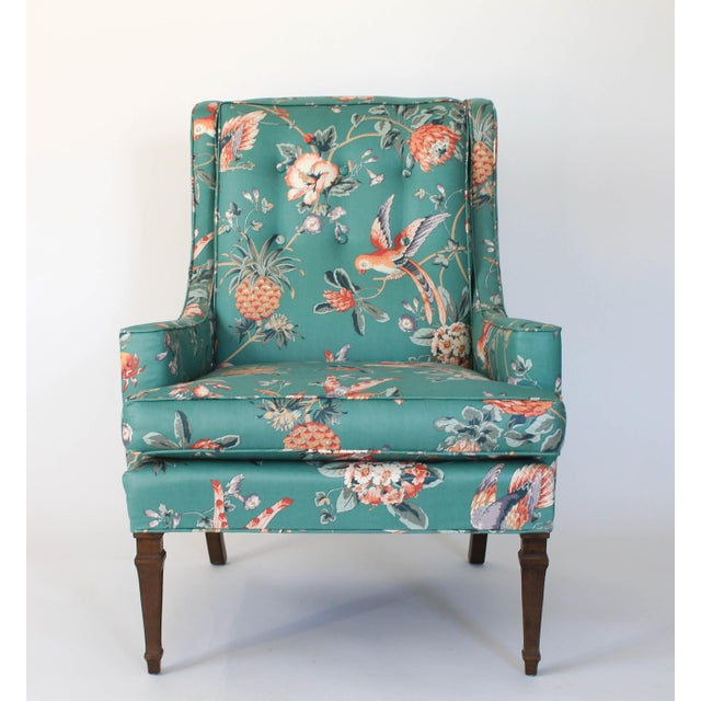 Mid-Century Chair and Ottoman For Sale - Image 4 of 10