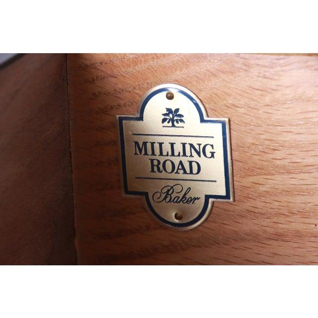 Michael Taylor for Baker Furniture Hollywood Regency Ebonized Long Dresser or Credenza For Sale - Image 12 of 13