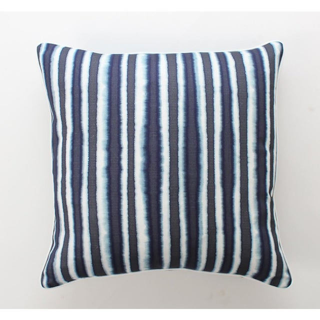 Blue Baxter Ombre Pillows, a Pair For Sale - Image 4 of 8