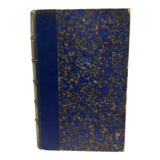 Antique 1900s French Entre Nous (Between Us) Leather Book For Sale