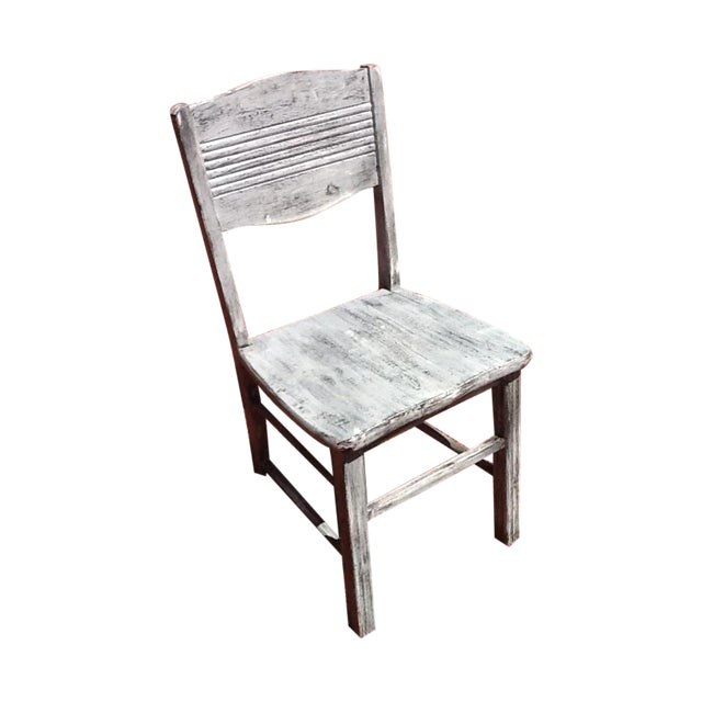Antique Shabby Chic Chair - Image 1 of 6