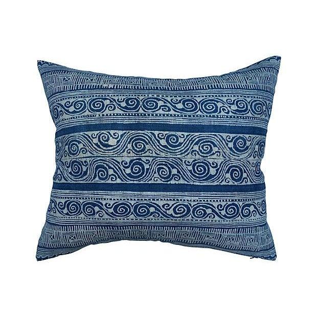 Batik Textile Pillow - Image 1 of 6