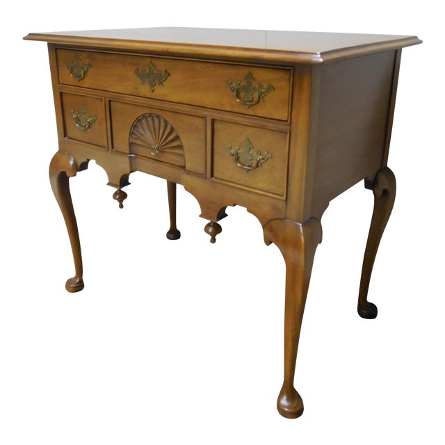 Century Furniture Henry Ford Museum Mahogany Chippendale Style Low Boy Chest For Sale